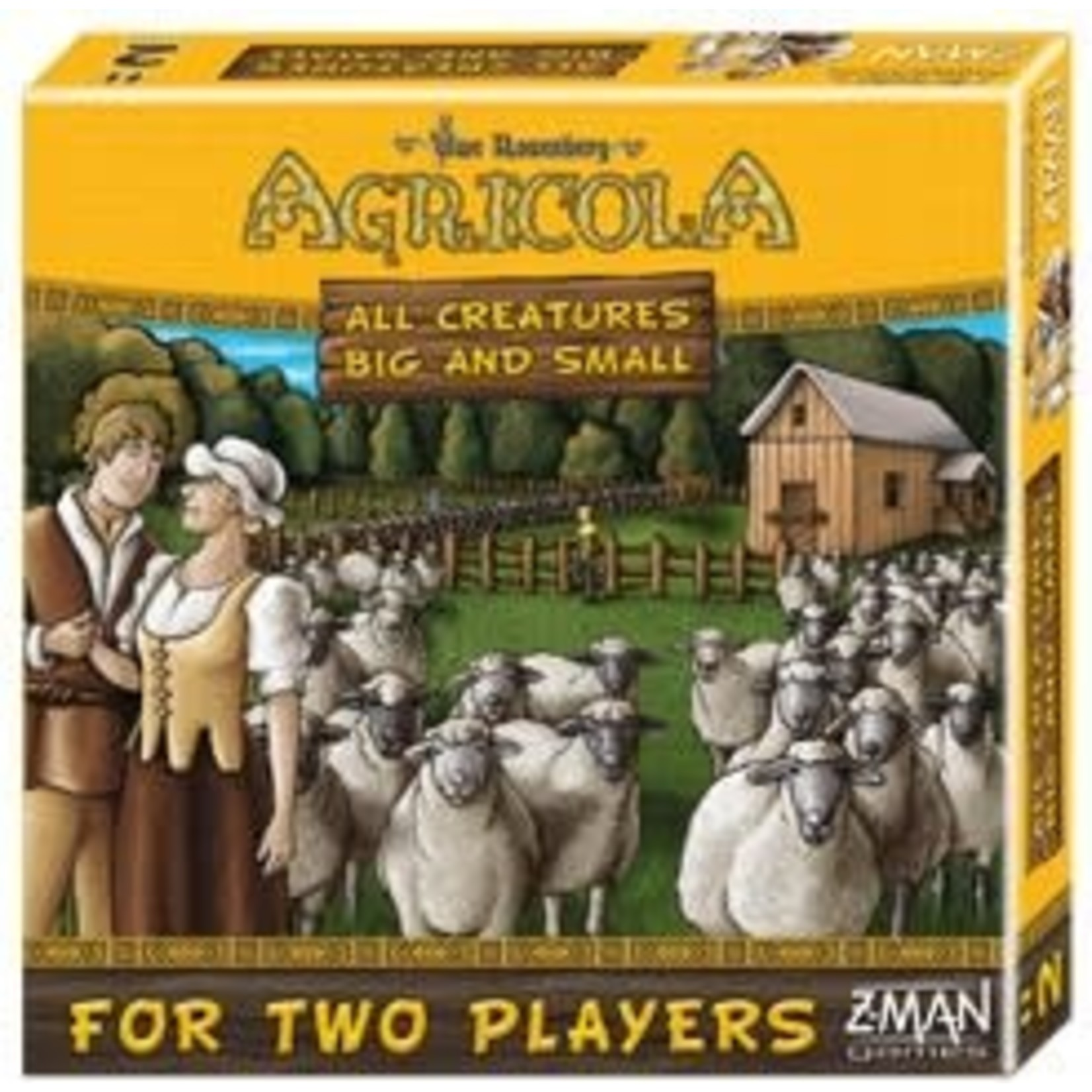 ZMan Games Agricola All Creatures Big and Small (Big Box)