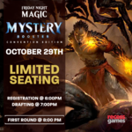 WOTC MTG Friday Night Magic Mystery Booster Halloween Draft!