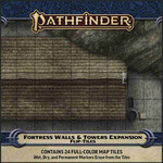 Paizo Pathfinder RPG Flip-Tiles Fortress Walls & Towers