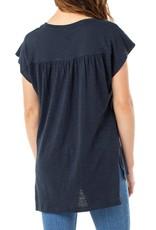 Liverpool Scoop neck cap sleeve dolman (2 colours)
