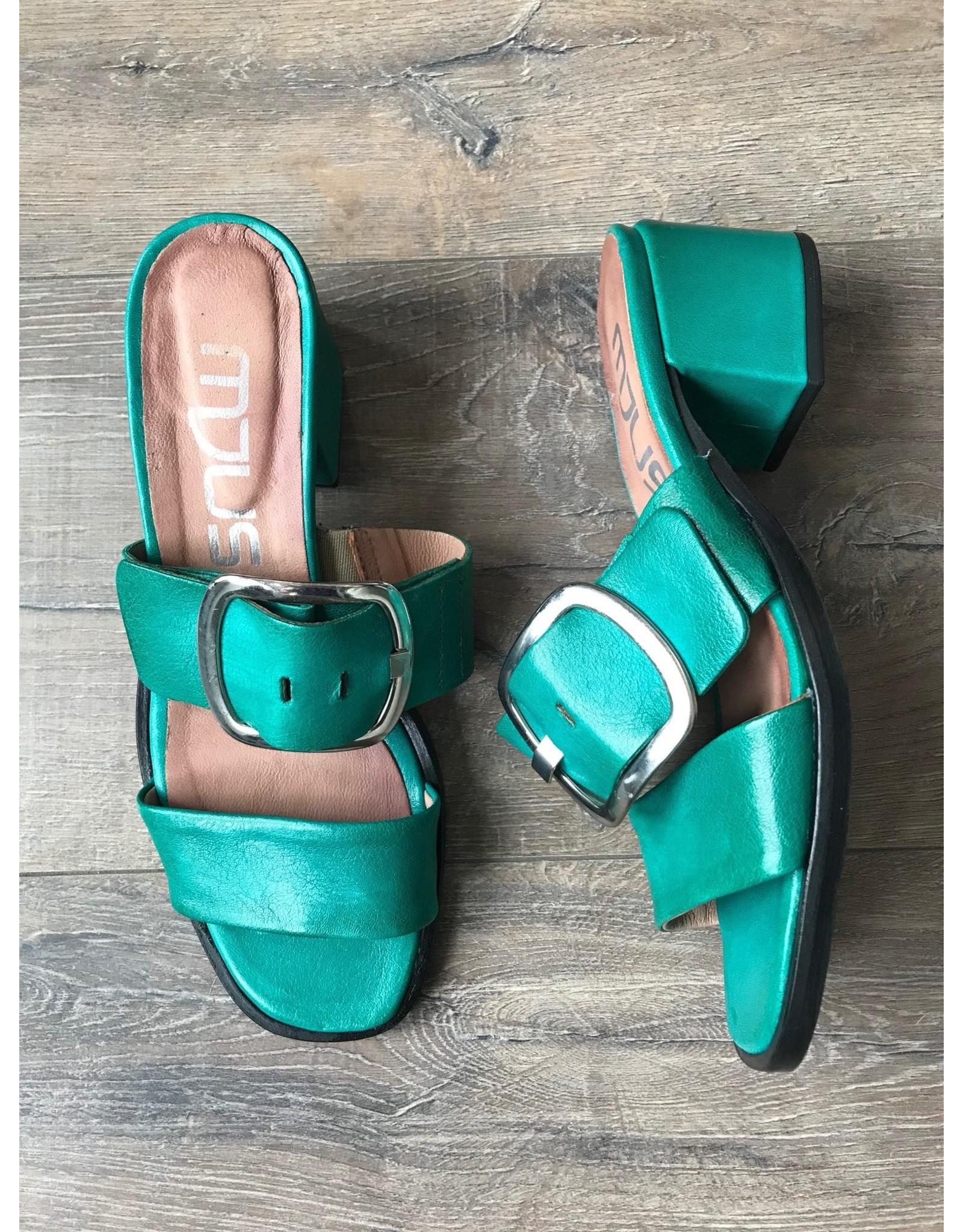 Mjus MJUS - Kiki block heeled mules