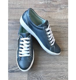 Chacal Chacal - Lila leather sneakers (blue)