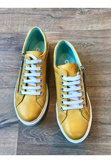 Chacal Chacal - Lila leather sneakers (amarillo yellow)