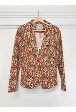 ICHI Kate floral print blazer