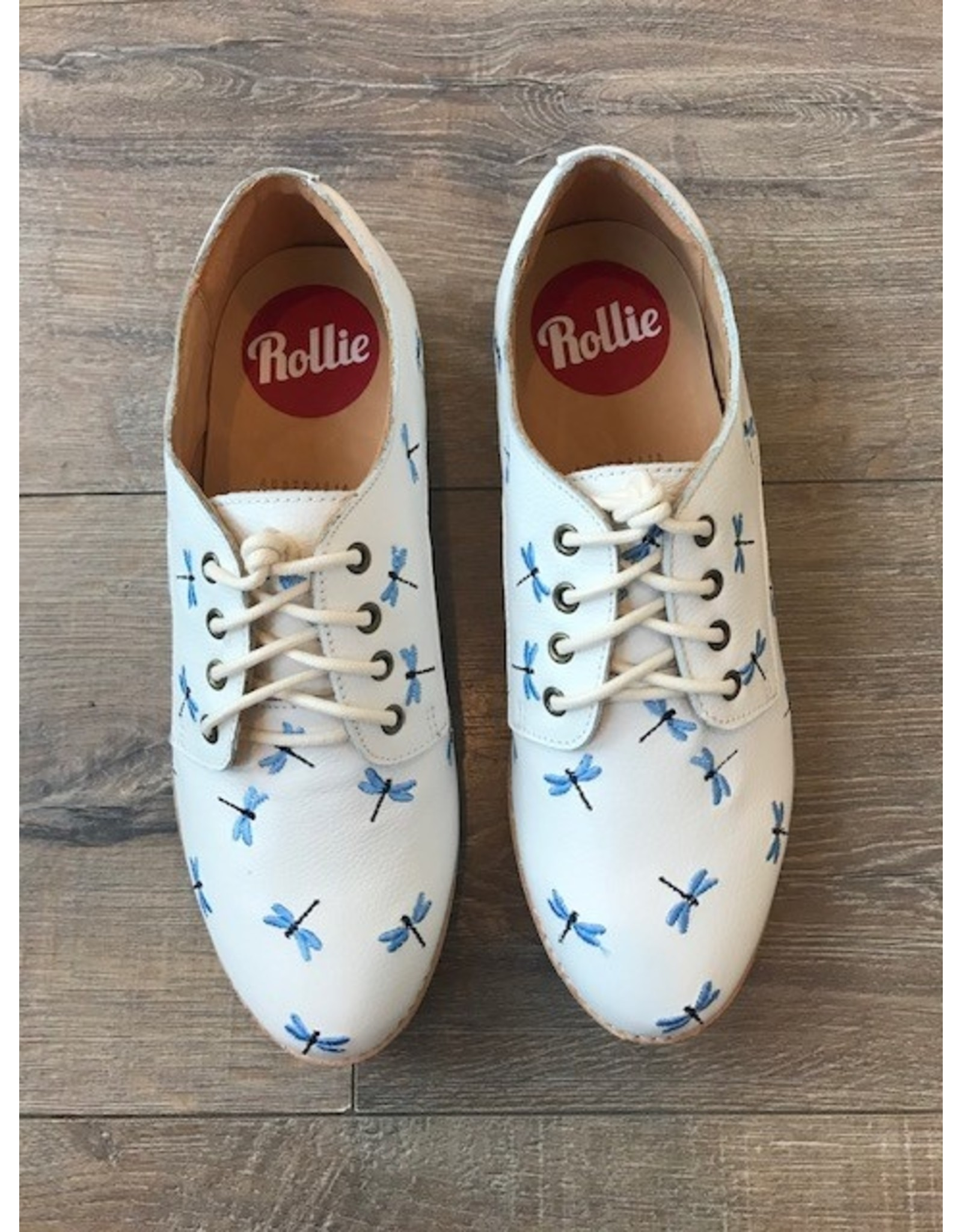 Rollie Shoes Rollie - Derby print (dragonfly)