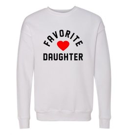 Favorite Daughter - crew neck sweatshirt (2 colours)