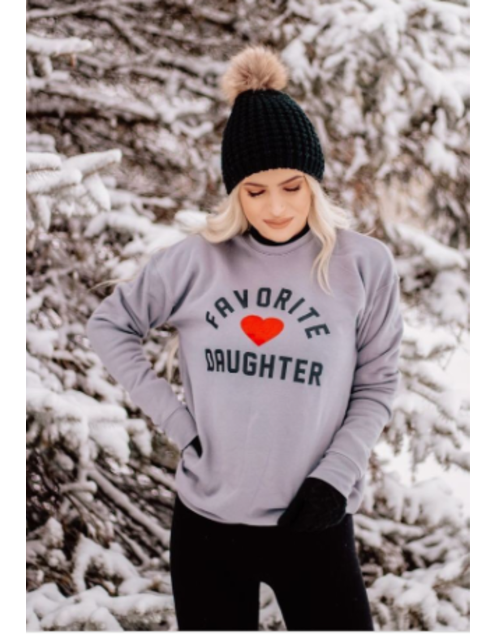 Favorite Daughter - crew neck sweatshirt (2 colours)