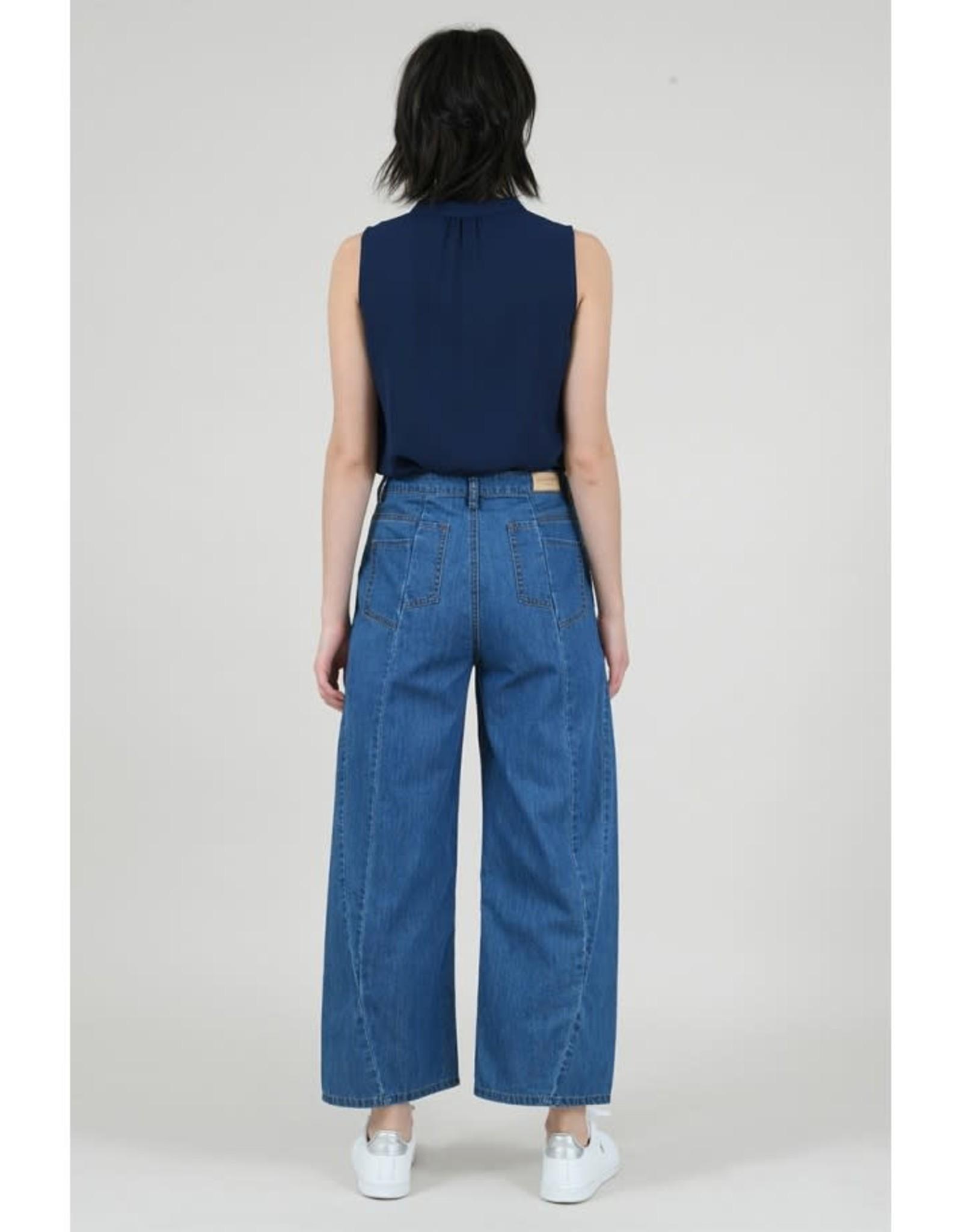 Molly Bracken Woven pants (brut denim)