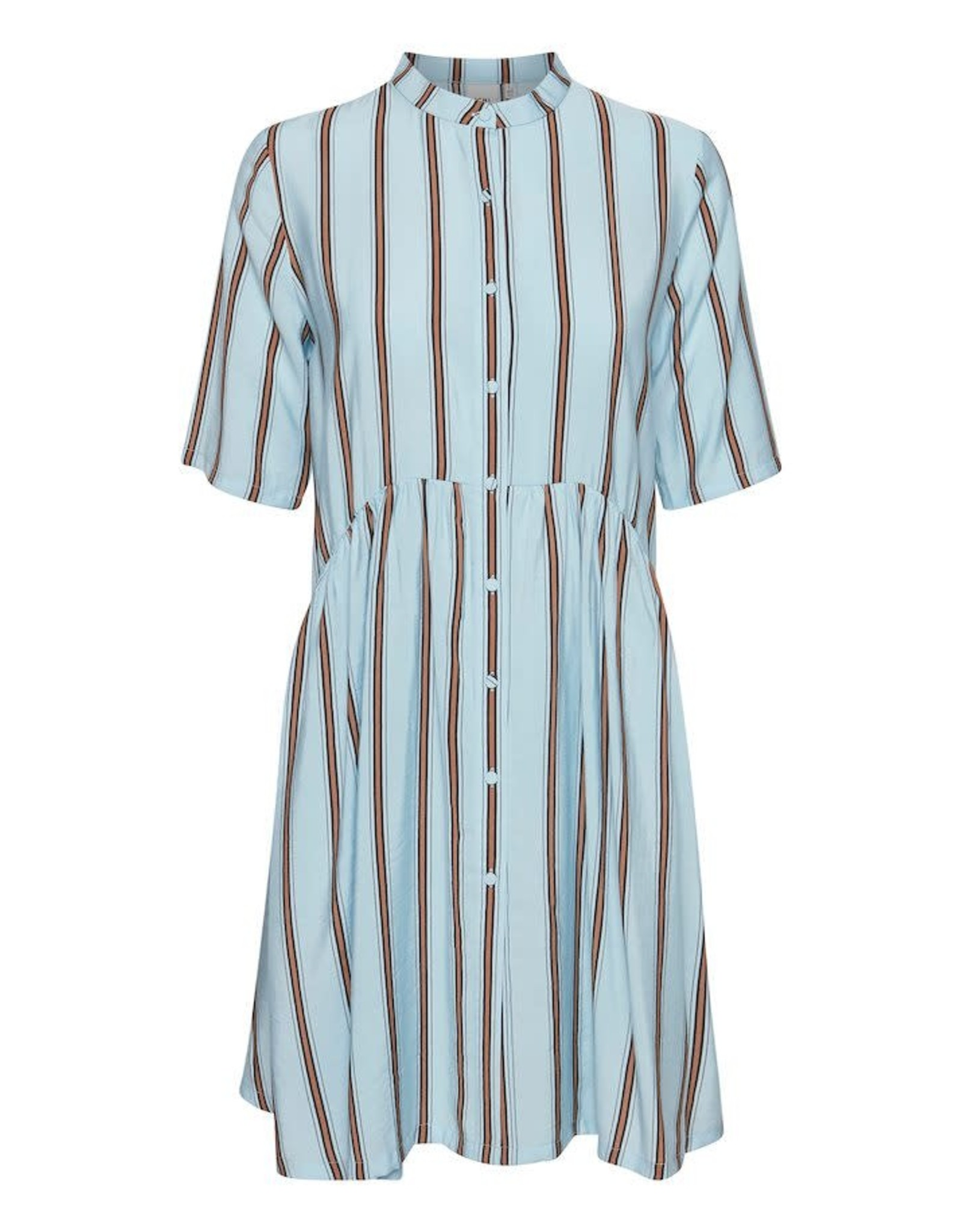 ICHI Cool blue dress