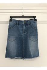 Liverpool Nashville - Patch pocket skirt