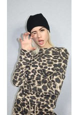 RD Style RD Style - Alex long sleeve waffle knit top (2 prints)