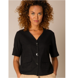 Yest Kristie - Top with button detail
