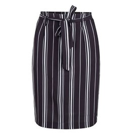 EsQualo EsQualo - Striped skirt