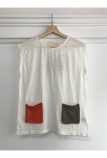 Pan Pan - Verity top with front pockets