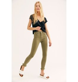 Free people Raw High Rise jegging