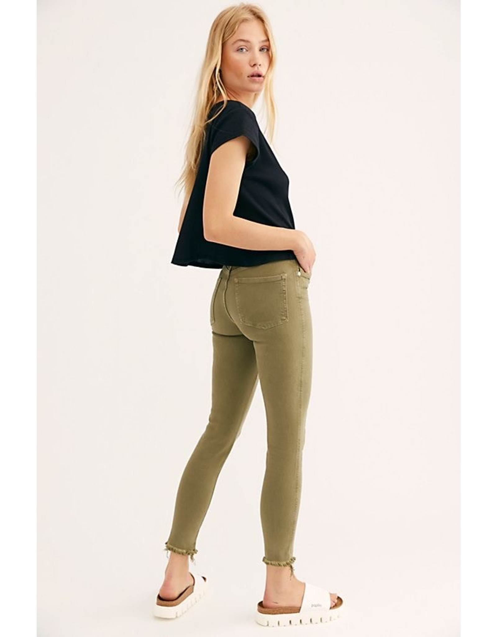 Free people Free People - Raw High Rise jegging