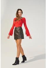 Mink Pink Friday Forever mini skirt