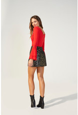 Mink Pink Friday Forever mini skirt