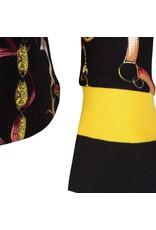 EsQualo Chain print blouse