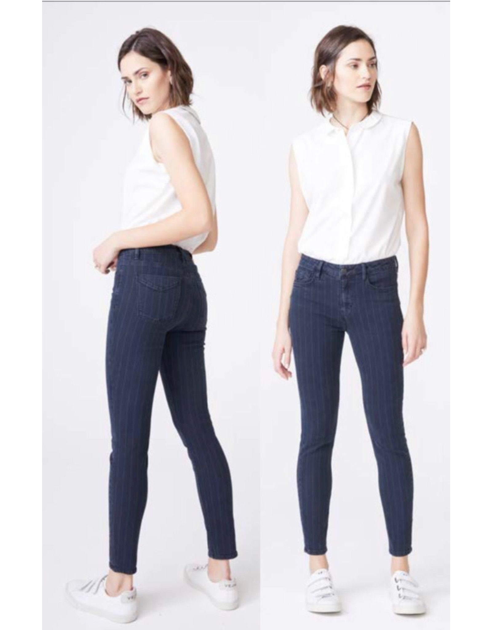 Unpublished Unpublished - Olivia high rise skinny (shadow stripe)