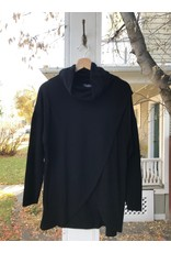 Papillon Papillon - cowl neck crossover front sweater