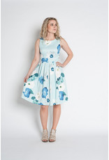 Papillon Papillon - Clara floral print pleat dress