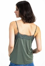 Garcia Garcia - lace trim cami (2 colours)
