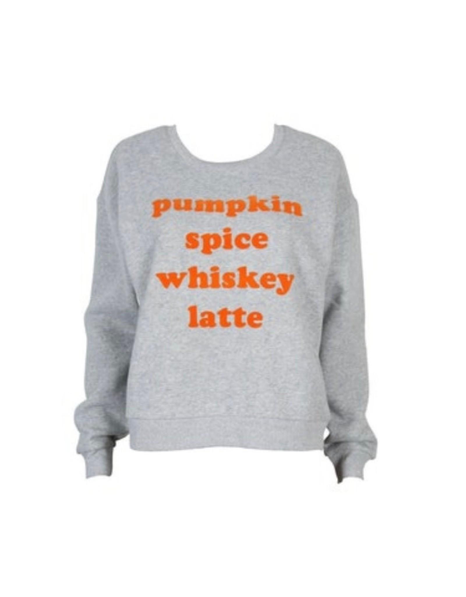 Mink Pink Whiskey Spice sweatshirt