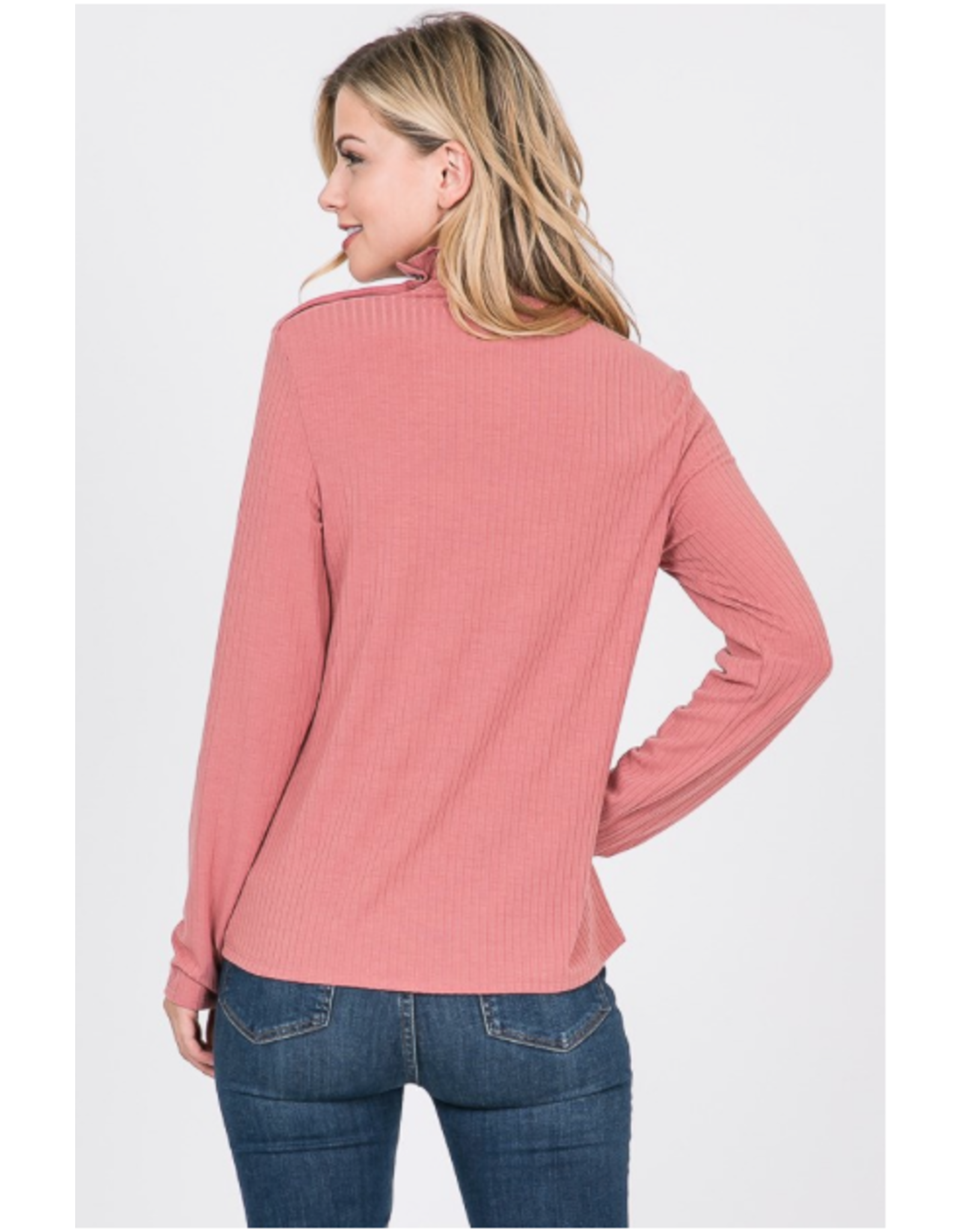 Fawn - high neck top
