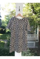 Luna Blue Cleo - leopard print dress (2 colours)