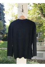 Yest Knit sweater with adjustable side closures