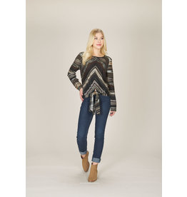 Papillon Papillon - Striped long sleeve top