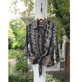 Mahila Darby - snake print blouse