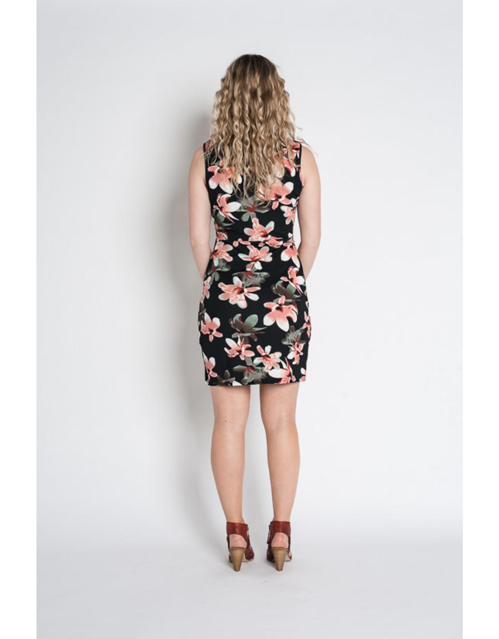Papillon Papillon - Mimi floral print dress with tulip hem