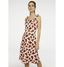 Compania Fantastica Compania Fantastica - Strawberry midi dress
