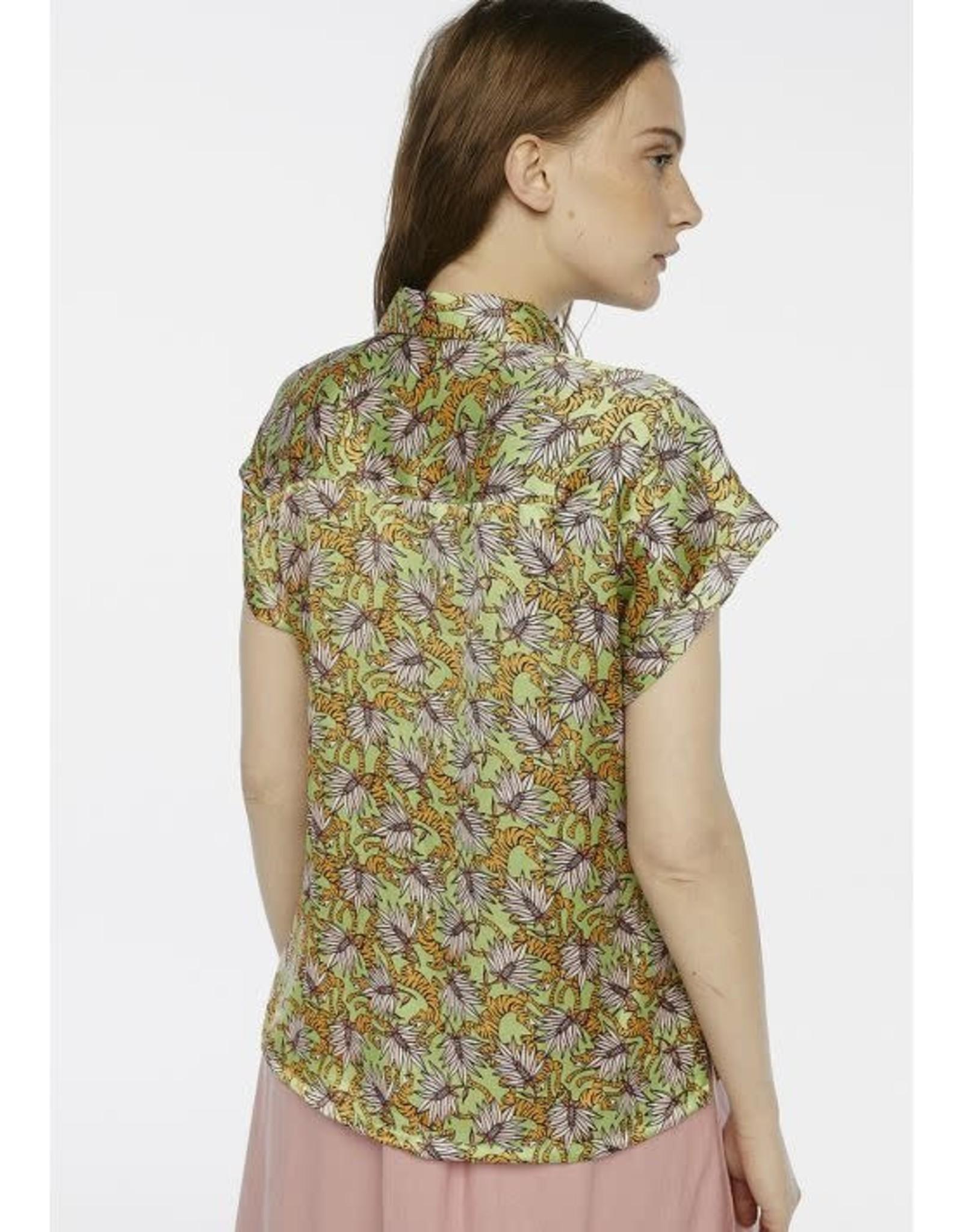 Compania Fantastica Compania Fantastica -  Tiger print shirt