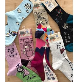 Blue Q Blue Q - Crew socks (women) - Multiple styles