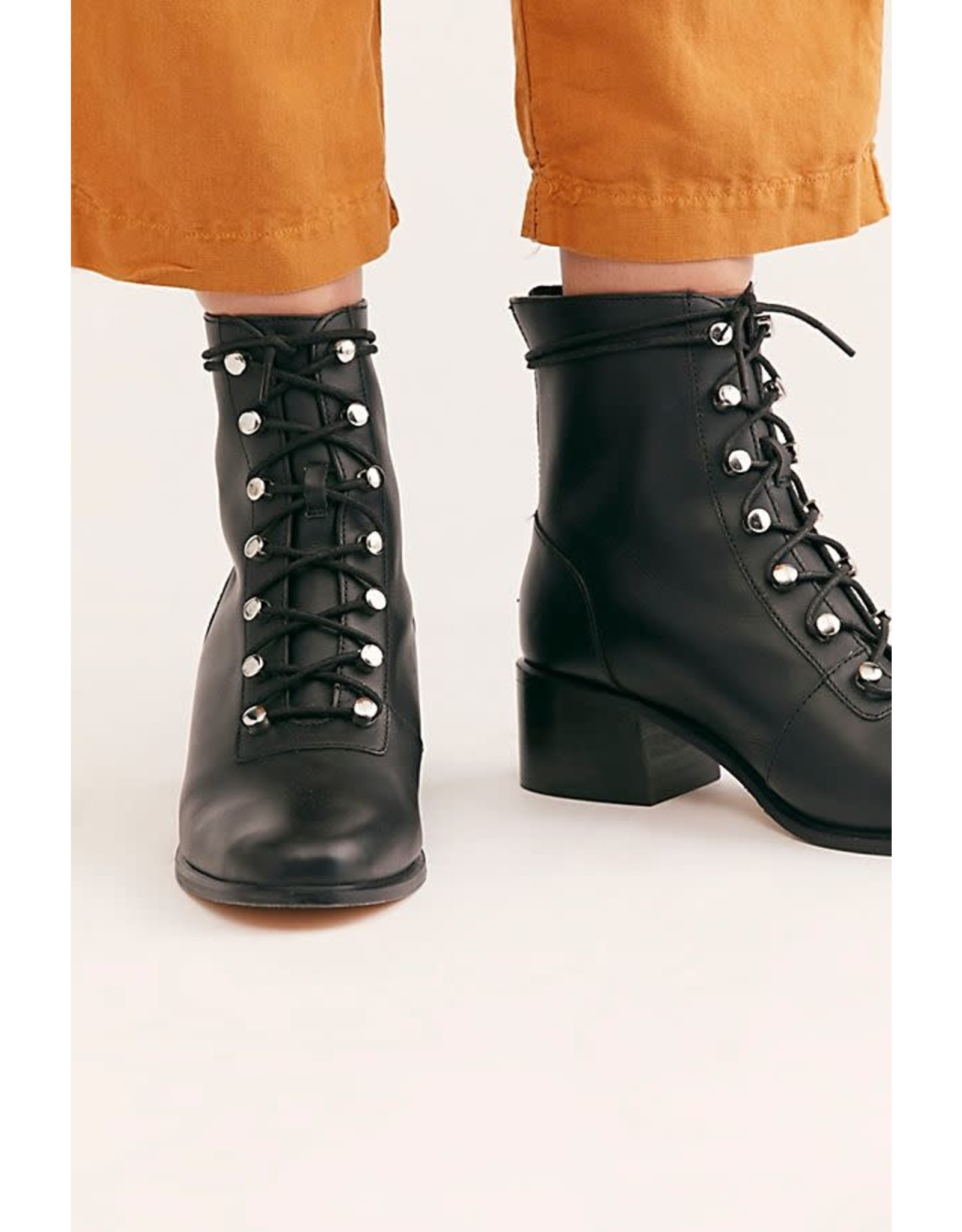 Free people Free People - Eberly lace up boot (black)