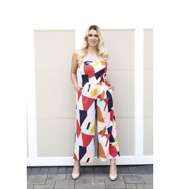 Papillon Papillon - Abstract print jumpsuit