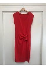 EsQualo EsQualo - Jersey knot dress (red)