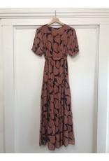 See U Soon See U Soon - Davina wrap dress (brick)