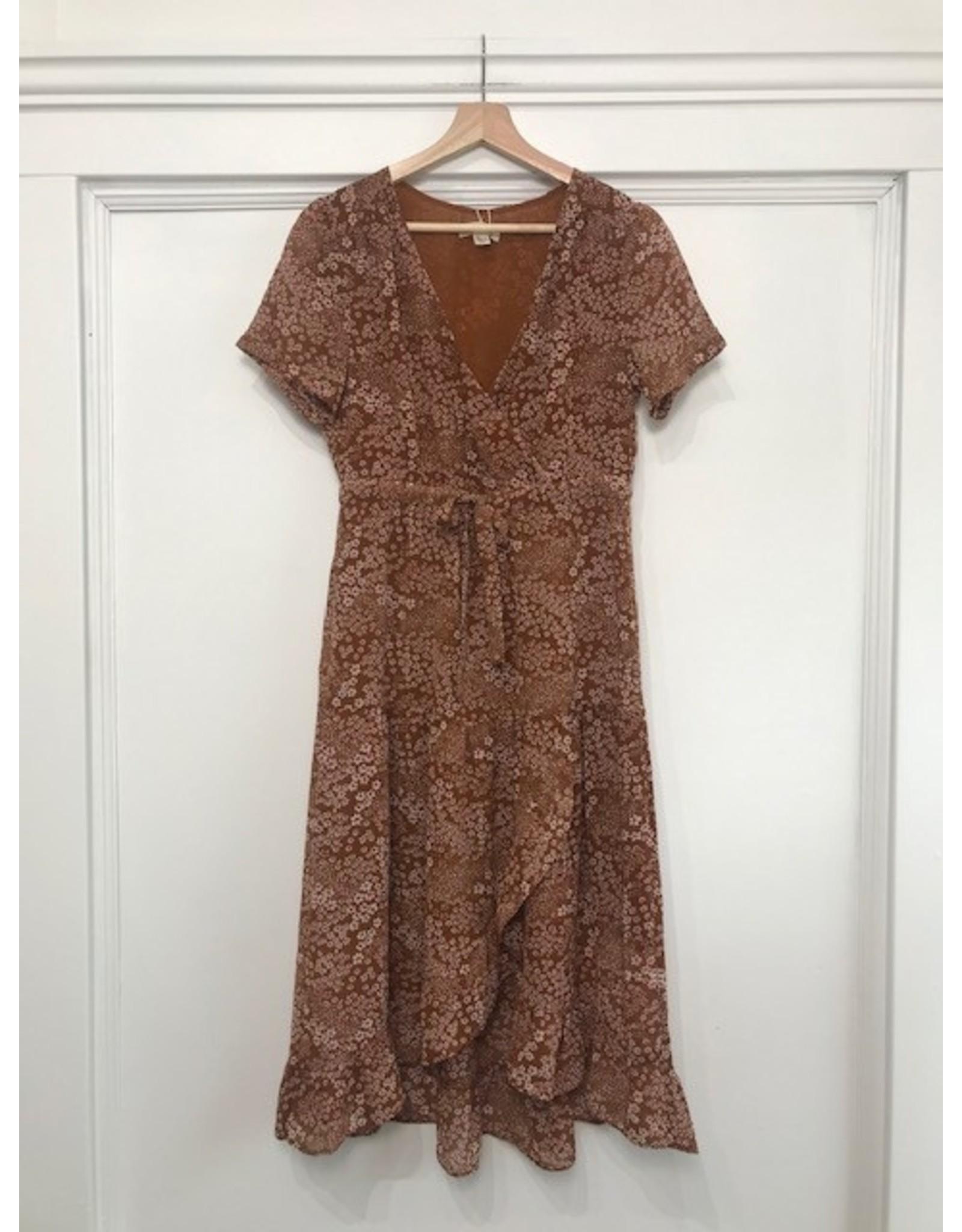See U Soon See U Soon - Wistful floral midi dress