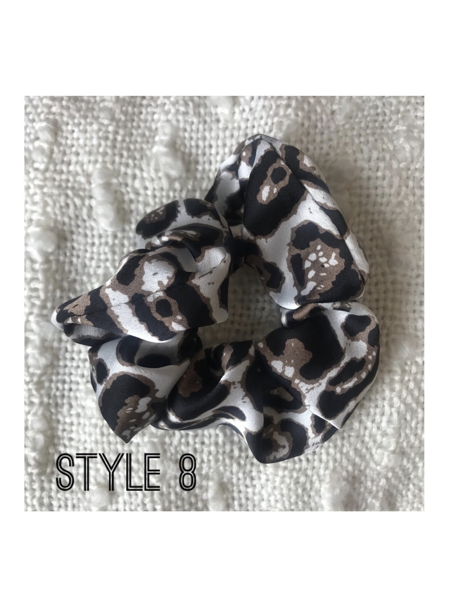 Chic Addition Animal print scrunchies (multiple colours)