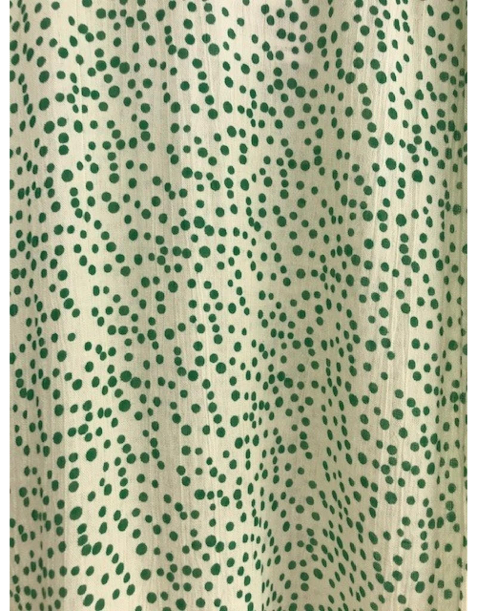 Compania Fantastica Compania Fantastica - Green dotted top