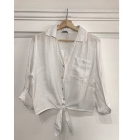 Pure Venice Pure Venice - Holly front tie top (3 colours)