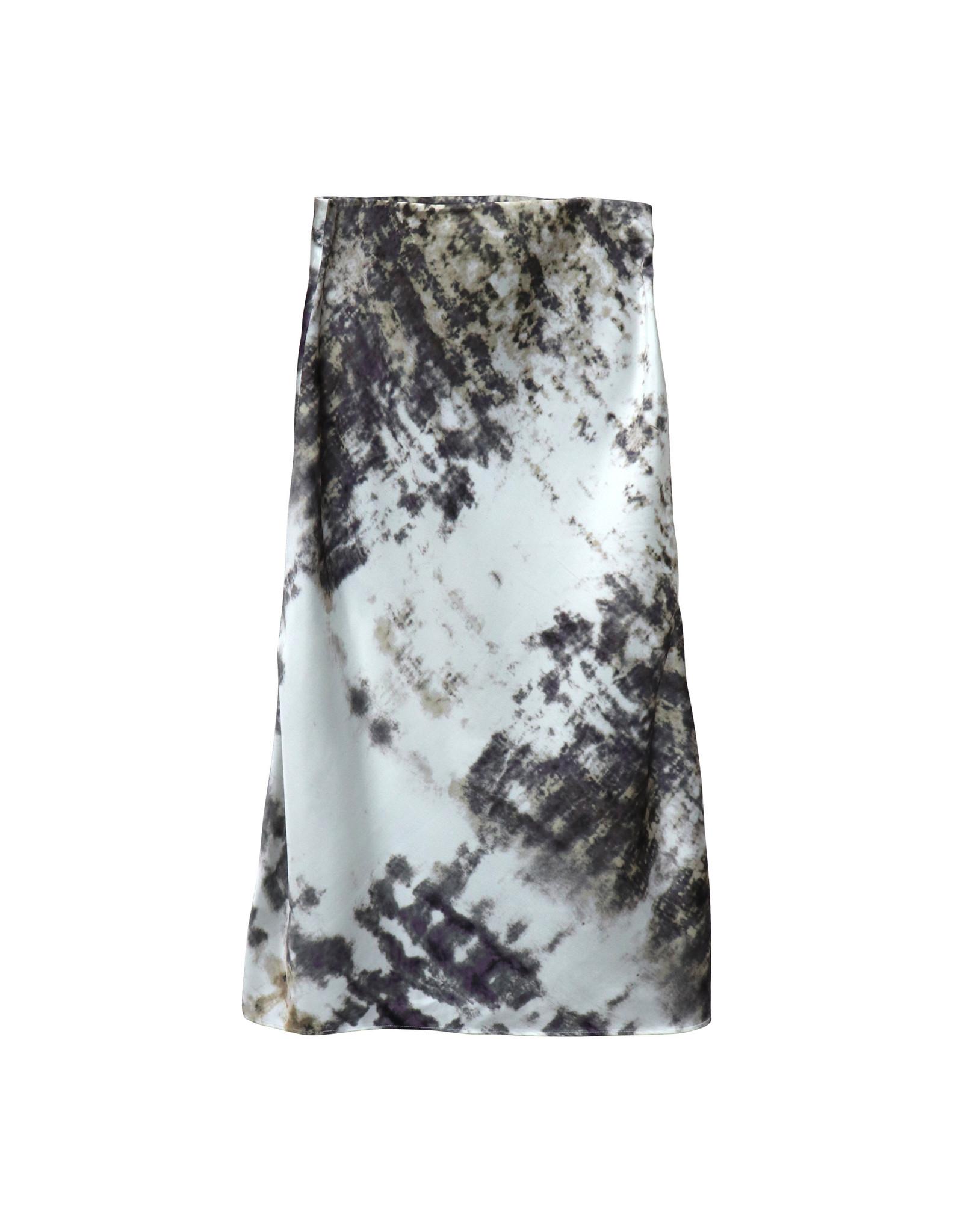 RD Style RD Style - Amal tie dye skirt (purple dust)