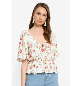 Mink Pink Mink Pink - Uncharted heart blouse