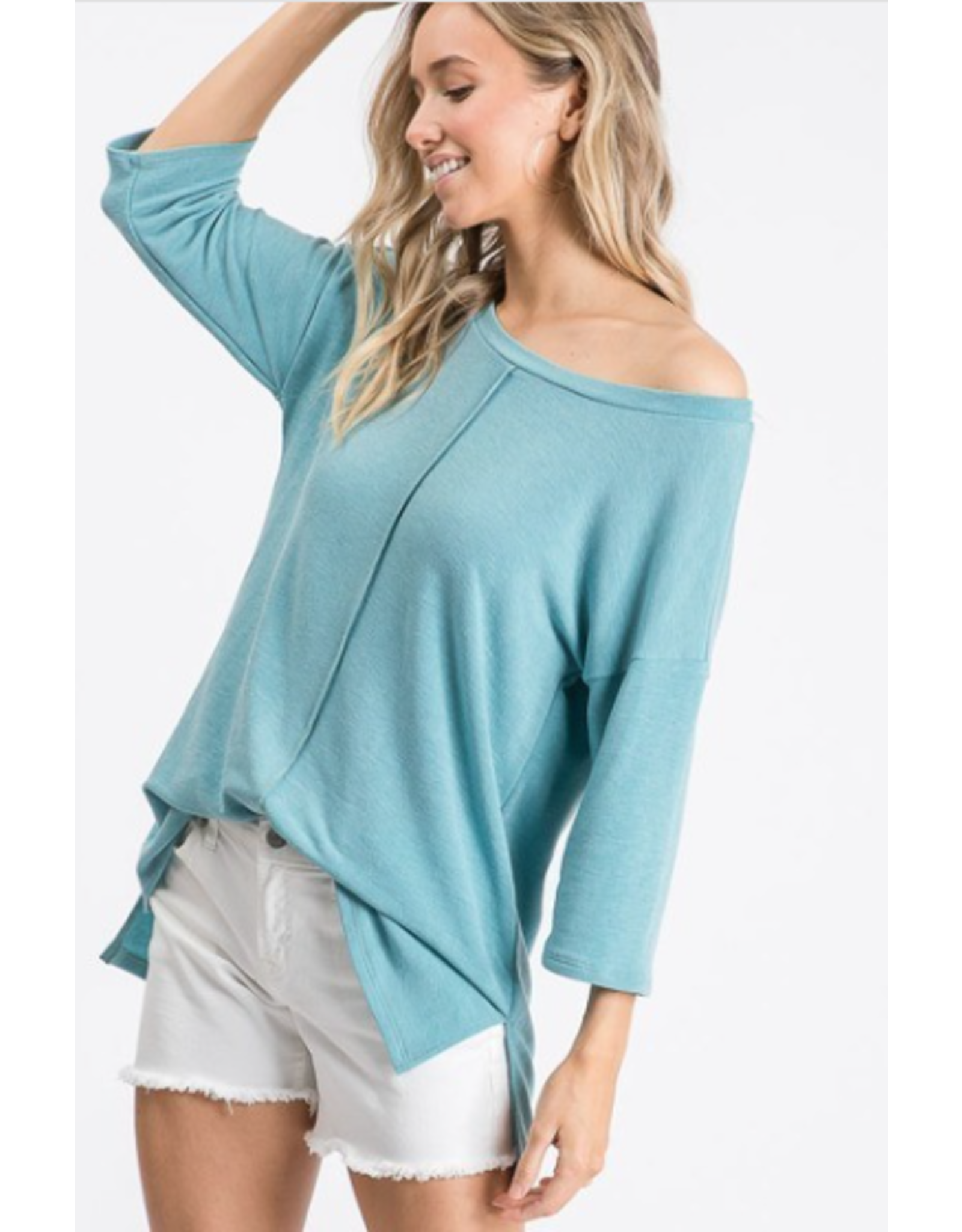 Zephyr - French Terry oversized top (3 colours)