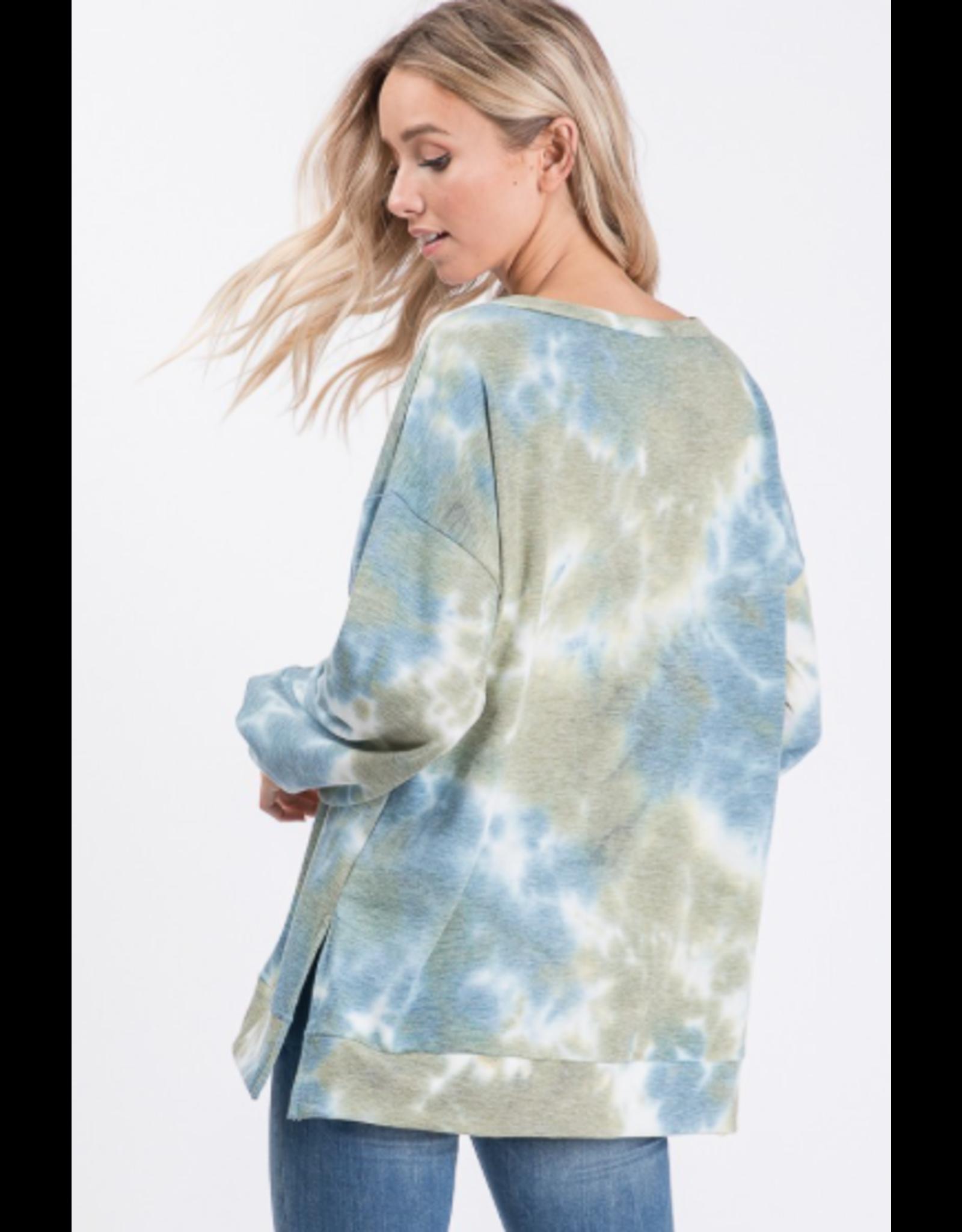 Orly - Tie dye long sleeve top