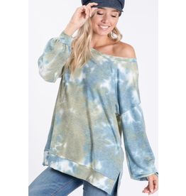 Orly - Tie dye long sleeve top